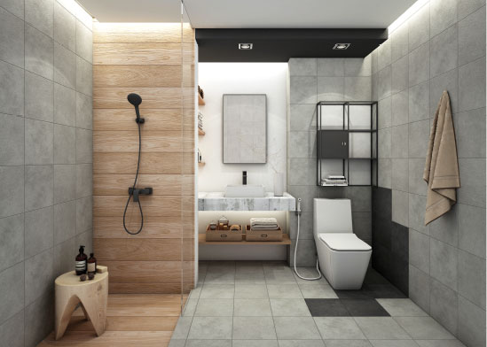 COTTO | Beautiful Bathroom
