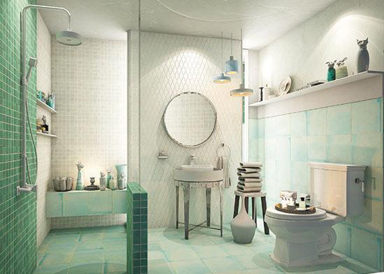 แบบห้องน้ำ  Neo Antique ให้ความรู้สึกย้อนยุคแต่อบอุ่น