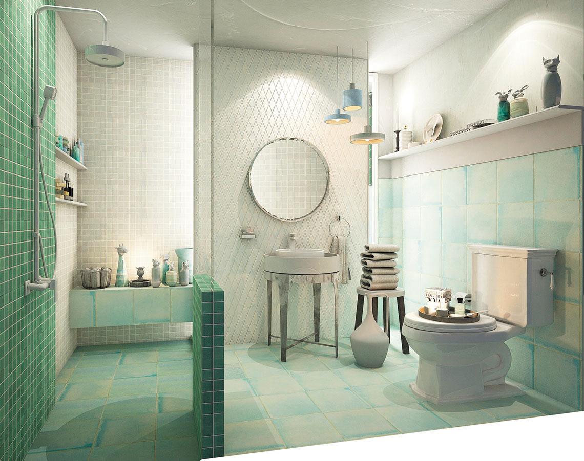 ไอเดียห้องน้ำ Celadon Series แบบห้องในบรรยากาศอบอุ่น