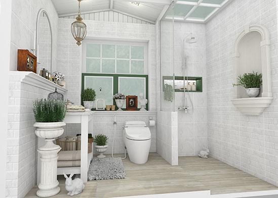 แบบห้องน้ำ รูปแบบสวนสไตล์ English Garden