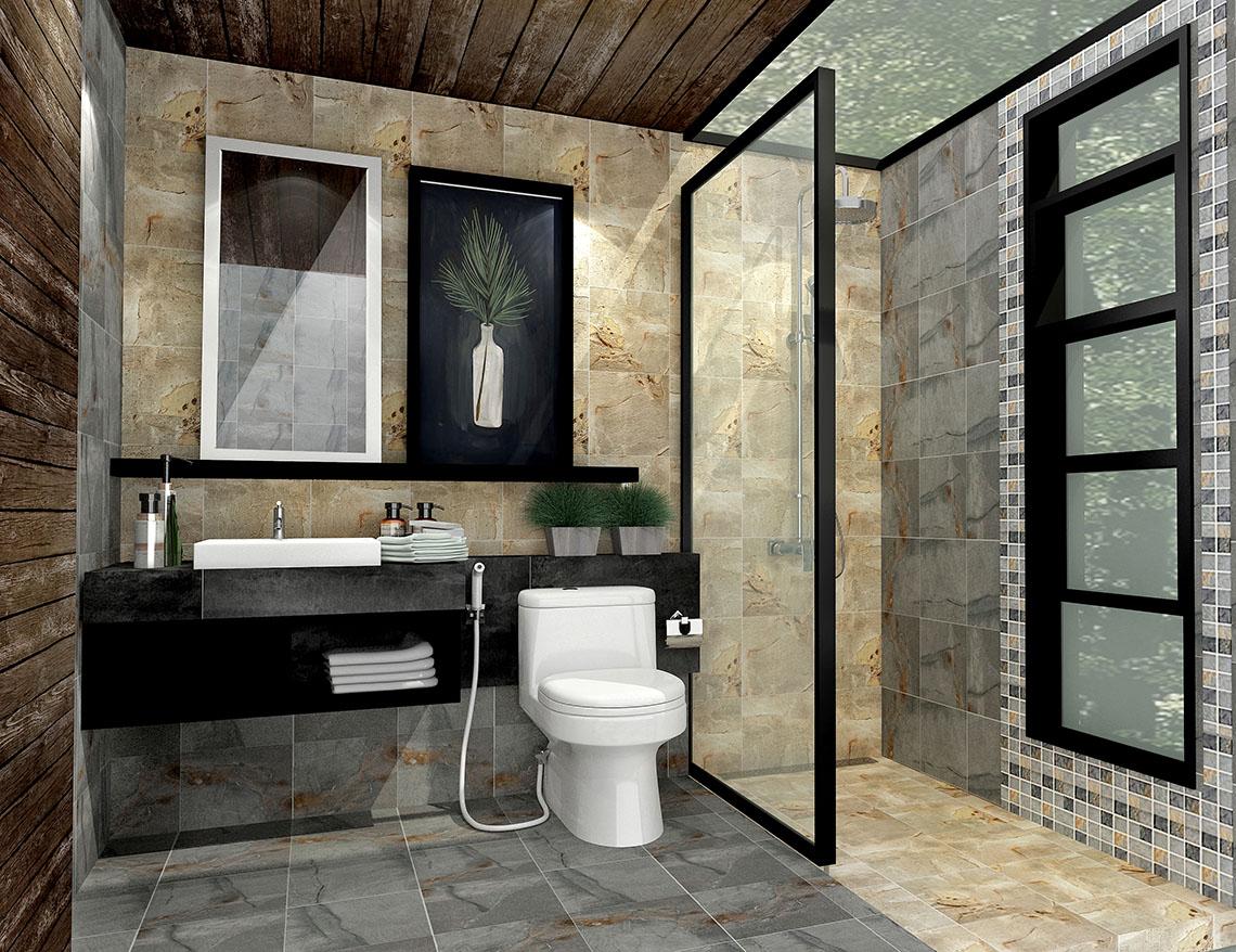 Cotto beautiful bathroom for Thai bathroom ideas