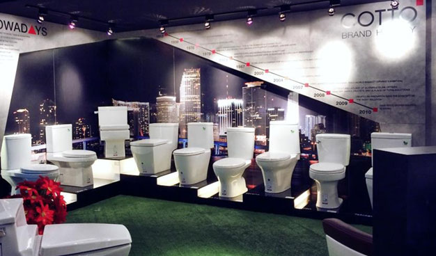COTTO continues to strengthen its brand in the global status for sanitary  ware and fittings  and unveils a new collection at The Home Show 2014. COTTO   Bathroom Inspiration