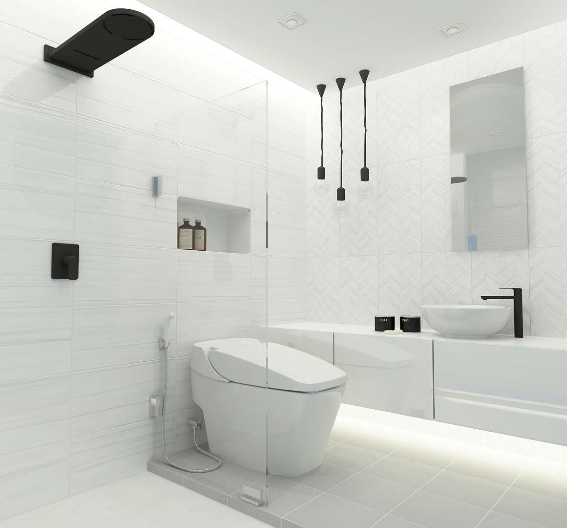 bathroom tiling ideas pictures wt arrowwhite un r t pk8 12x24pm cotto 16899