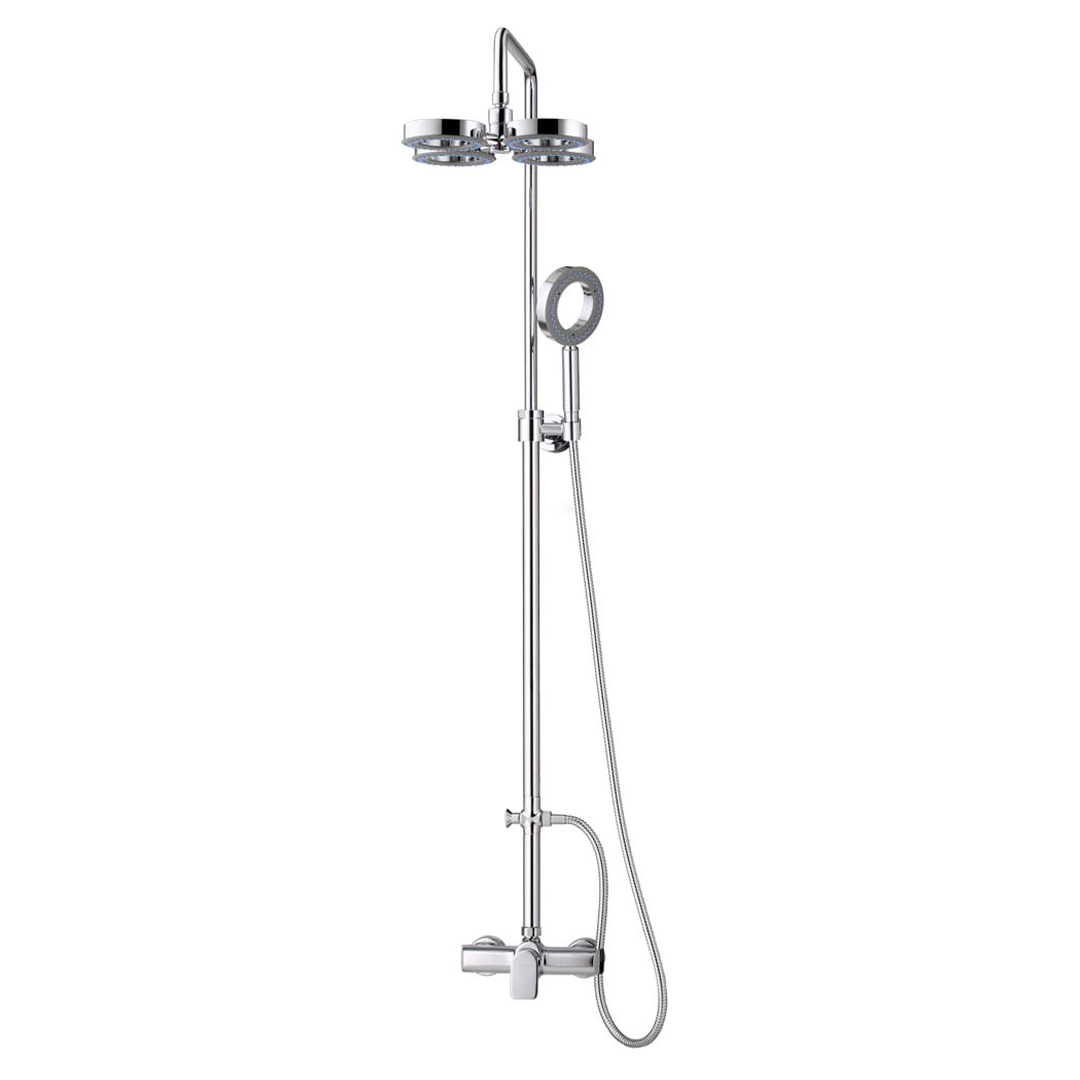 CT2072W Exposed Shower Mixer With 1 Function Shower Set 1 Function Fixed  Shower / 4 Rings